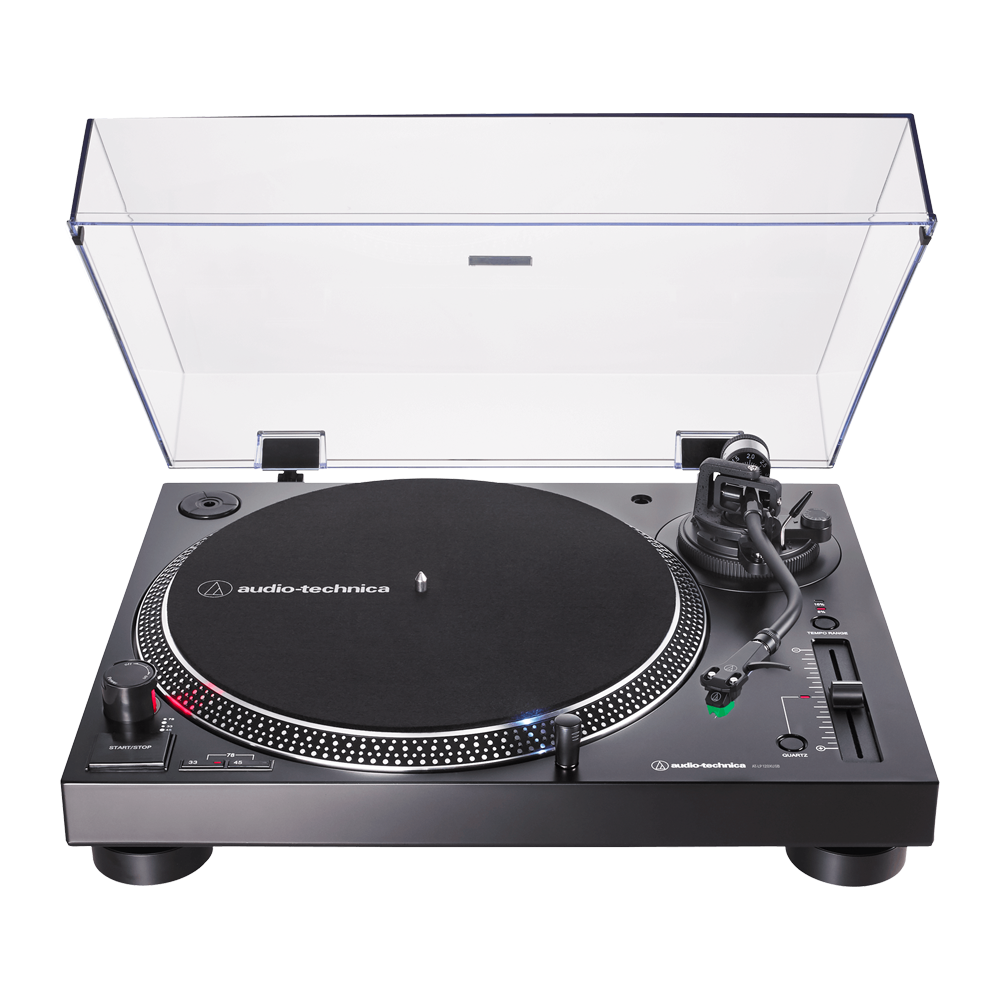 Audio Technica Turntable + Vinyl
