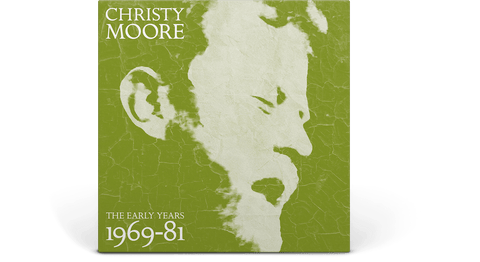 Vinyl - [Pre-Order 06/11] Christy Moore : The Early Years 1969-81 (Ltd 2CD/DVD) - The Record Hub