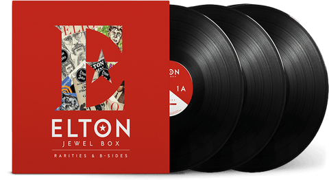 Vinyl - Elton John : Jewel Box (3LP) - Rarities & B-Sides - The Record Hub