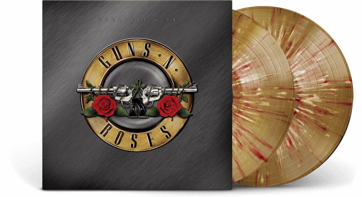Vinyl - Guns N' Roses : Greatest Hits (Gold + Splatter Vinyl) - The Record Hub