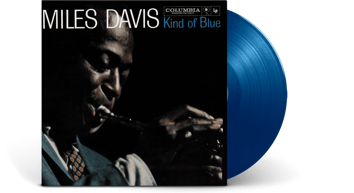 Vinyl - Miles Davis : Kind of Blue [Blue Vinyl] - The Record Hub