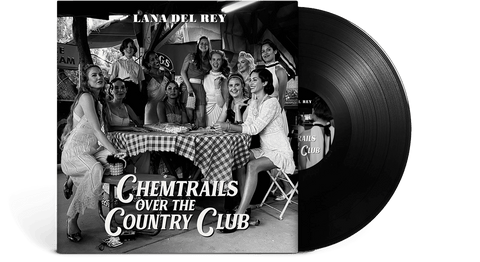 Vinyl - Lana Del Rey : Chemtrails Over The Country Club (Standard LP) - The Record Hub