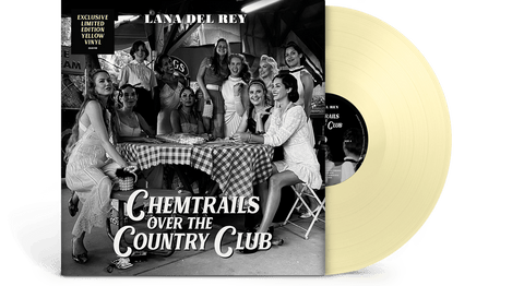 Vinyl - Lana Del Rey : Chemtrails Over The Country Club (Ltd Yellow Vinyl) - The Record Hub