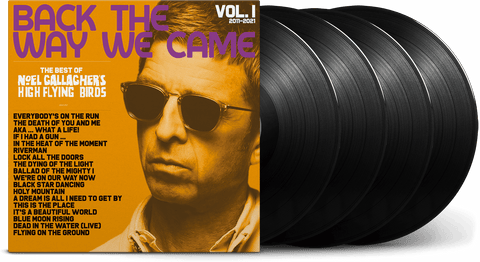 Vinyl - [Pre-Order 11/06] Noel Gallagher's High Flying Birds : The Best Of - Back The Way We Came Vol.1 2011-2021 (LP Box Set) - The Record Hub
