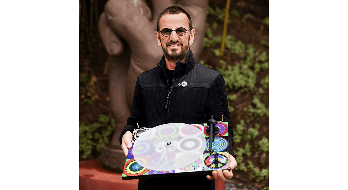 Vinyl - Pro-Ject : Ringo Starr Peace & Love Turntable - The Record Hub