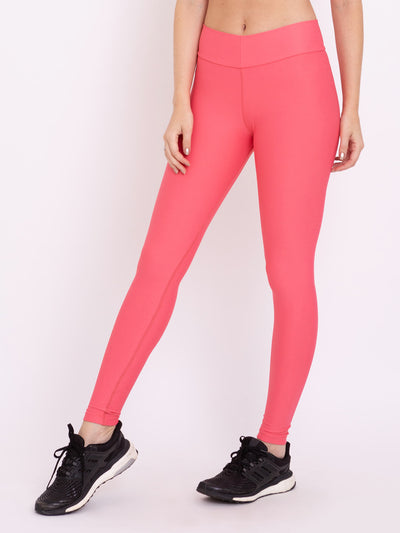 V-UP Studio Eco Leggings Rose Carmine - VÖTIG® Official Store | Premium Fitness & Workout Wear