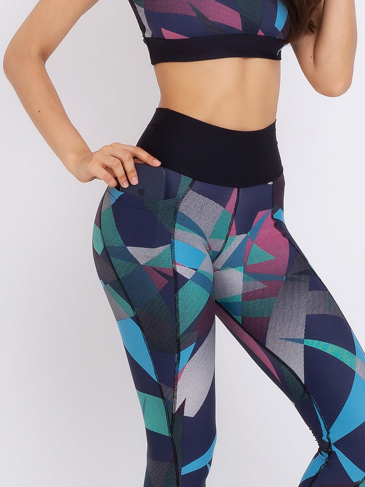 Morado Eco Performance Leggings & Top Set - VOTIG