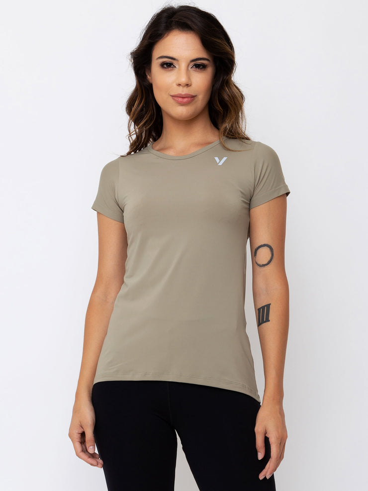 V-FLUITY Tail T-Shirt Cupuacu Green - VOTIG
