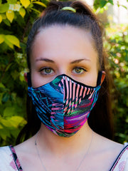 V-Light Face Mask Funky Floral - VOTIG