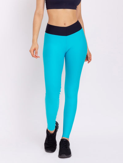 V-Attack Studio Leggings Miami Blue - VÖTIG® Official Store | Premium Fitness & Workout Wear