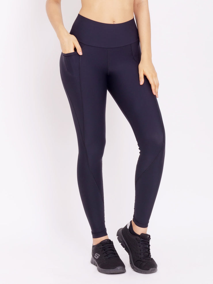 V-Sportiva Performance Leggings With Pocket New Black - VOTIG