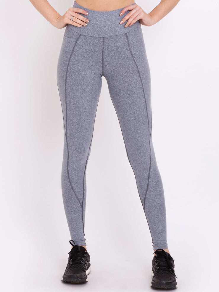 V-Light Performance Leggings With Pocket MZ Grey - VOTIG