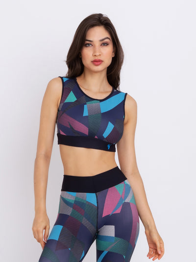 VLight Performance ECO Crop Top MORADO - VÖTIG® Official Store | Premium Fitness & Workout Wear