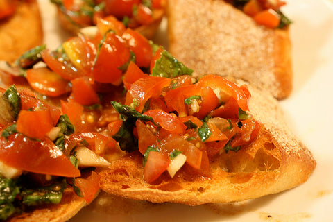 Quick and Yummy Bruschetta