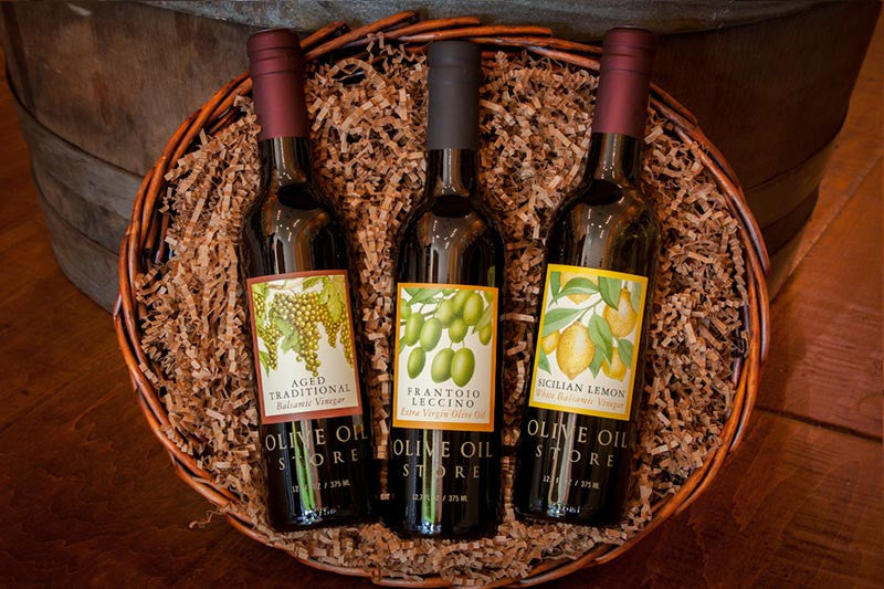Extra Virgin Olive Oil Connoisseur Gift Basket