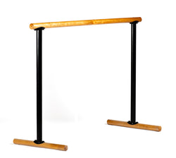 Portable Ballet Barre - Economic Pine -  H=95 L=130 cm