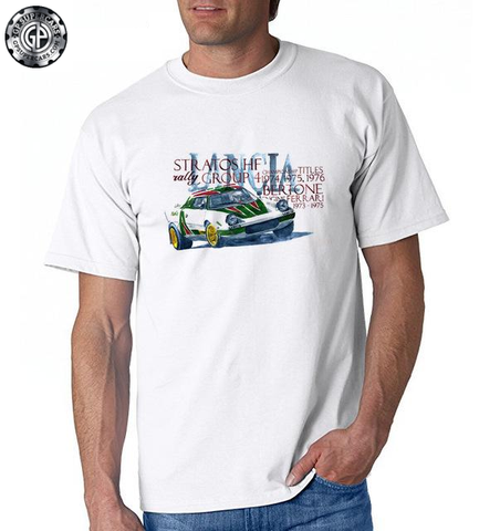 Lancia Stratos Rally T Shirt