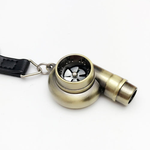 Turbocharger Key Chain Whistle