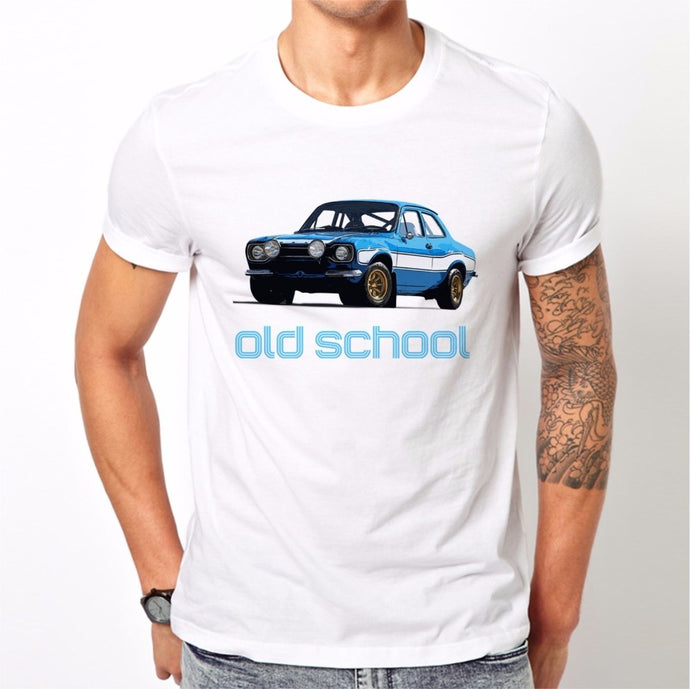 Escort Mk1 RS Mexico Retro Old School Rally T-Shirt