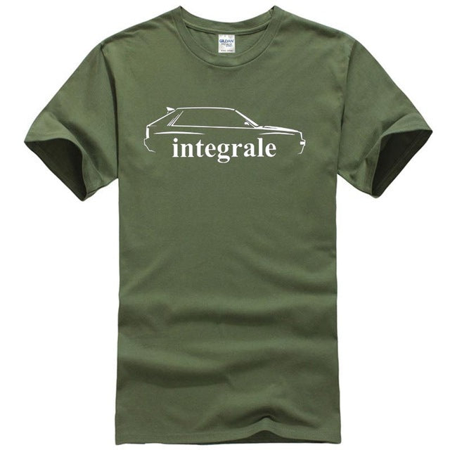 Lancia Delta HF Integrale Inspired Rally T-Shirt