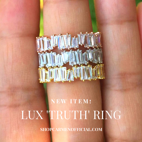Lux Truth Ring (Silver)