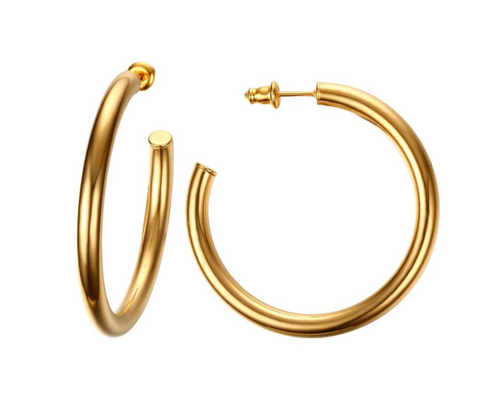 Camila's Gold Hoop