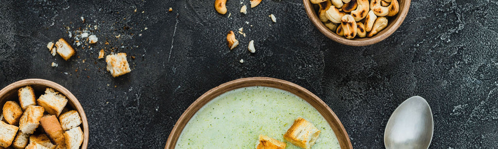 Broccoli and Cashew Soup