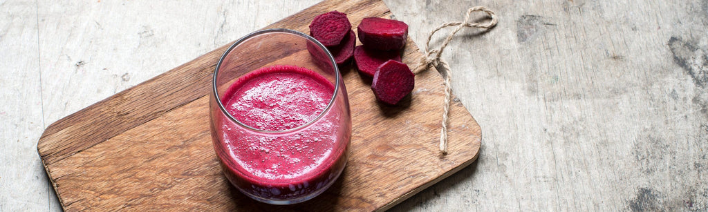 Friday's Ruby Zinger Smoothie