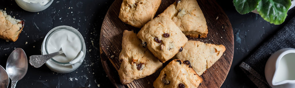 After School Tummy Warming Scones