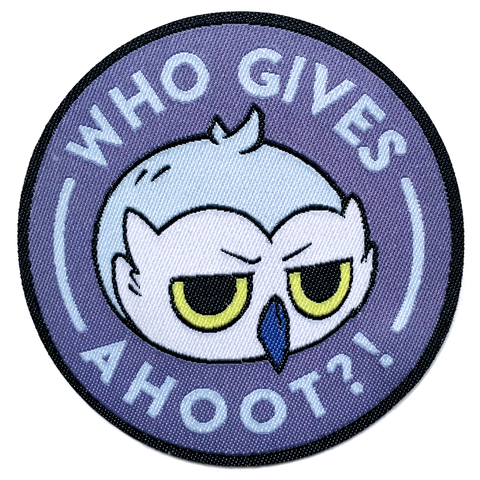 Who Gives a Hoot Stormy Patch