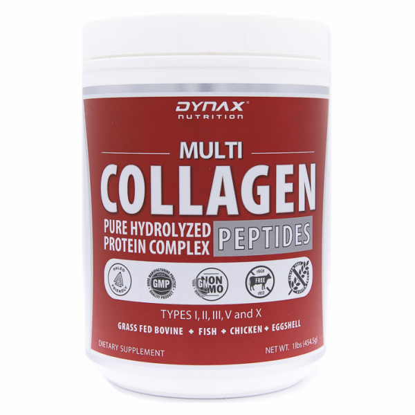 Collagen Powder – Premium Multi Collagen Peptide Protein Powder Supplement (Types I, II, III, V & X) That's Grass Fed,  Non-GMO and Gluten Free – Great for Hair Growth, Anti-Aging, Joint Pain Relief, Sports Recovery and Paleo & Keto Diet (16oz)
