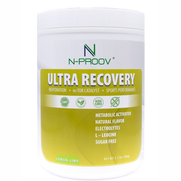 Post Workout – Ultra Recovery Electrolyte Powder Supplement Drink Mix with BCAA L-Leucine for Men and Women – Enhances Rehydration, Accelerates Muscle Repair and Keto Friendly – Pineapple and Lemon Lime No Artificial Flavor (48oz)