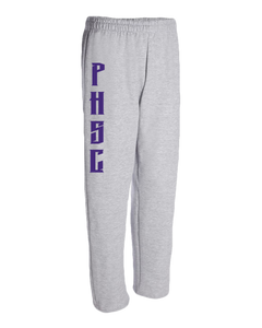 Open Bottom Fleece Sweatpants