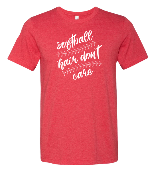 Softball Hair T-Shirt (more colors available)