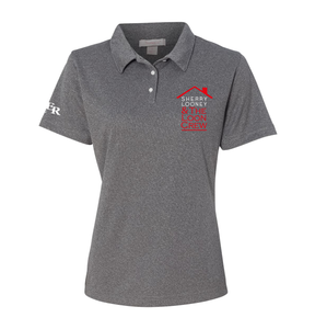 Ladies Performance Polo - Grey