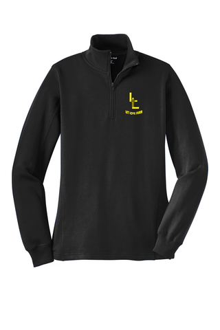 Ladies/Mens Quarter Zip Sweatshirt