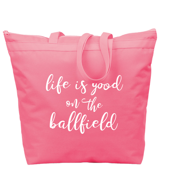 Life if Good Zipper Bag (more colors available)