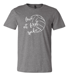 Love at First Spike T-Shirt  (more colors available)