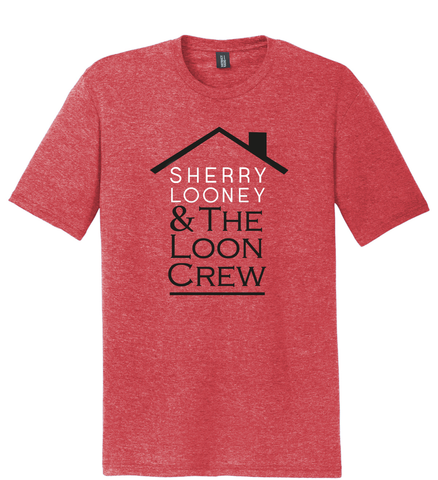 Heather Red Soft Unisex T-Shirt
