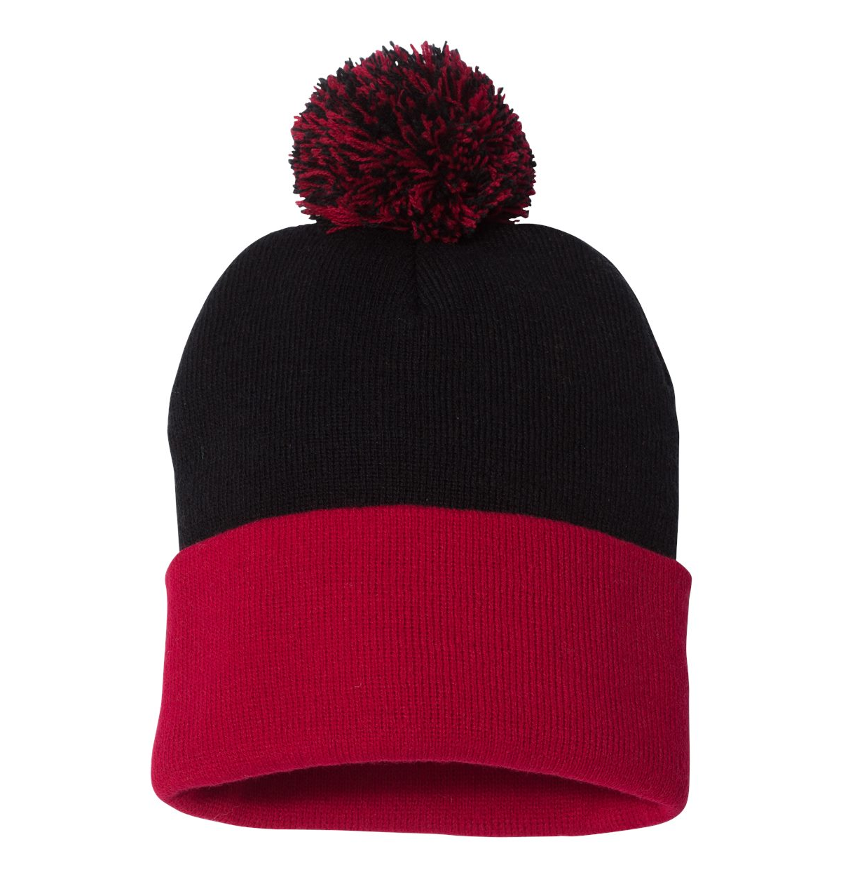 Red/Black Beanie