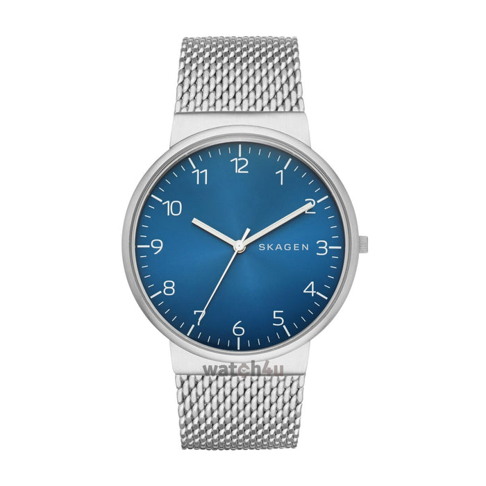 Skagen Men's Ancher Heavy Gauge Steel Mesh Watch