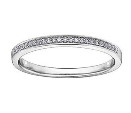 .08CT Diamond Wedding/Anniversary Band