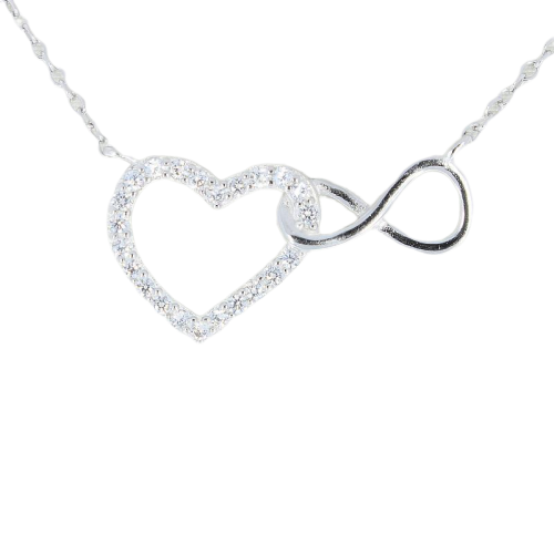 Love is Infinite Necklace