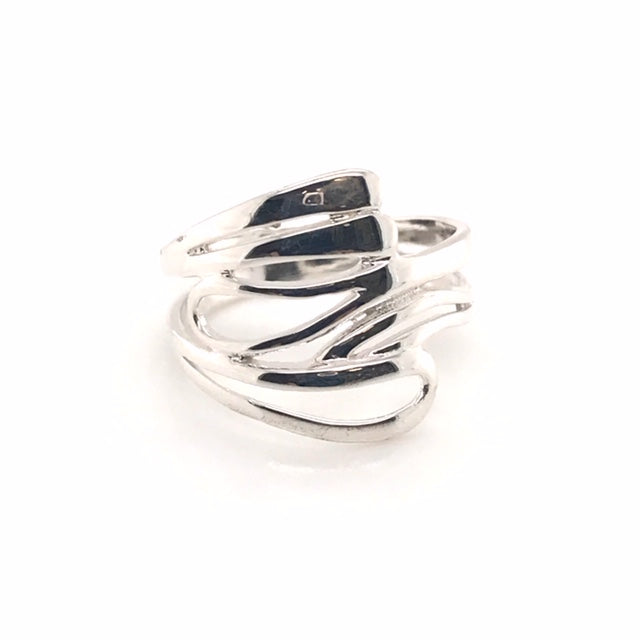 Thick Wave Ring