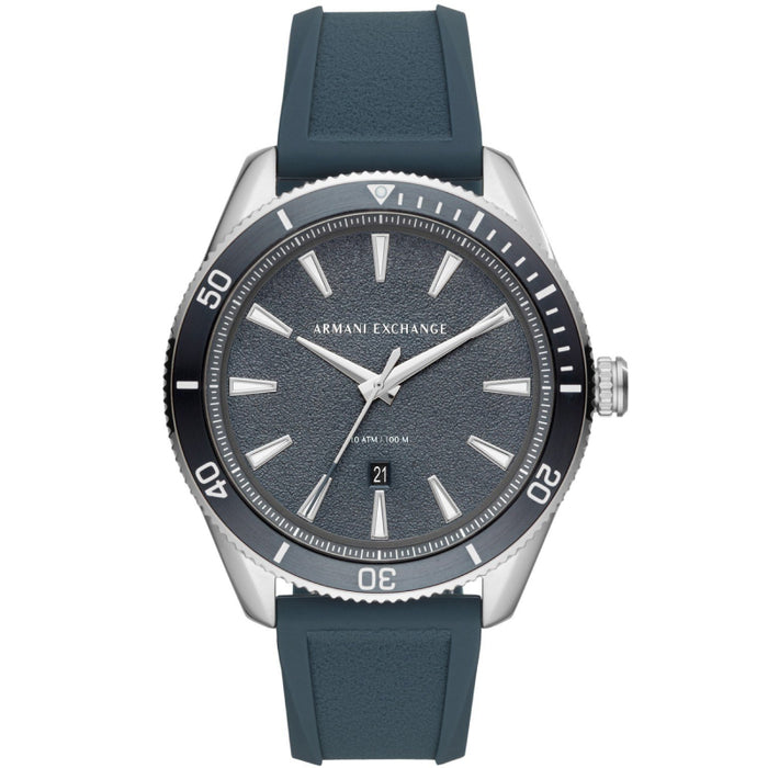 Armani Exchange Enzo Watch: Silicone