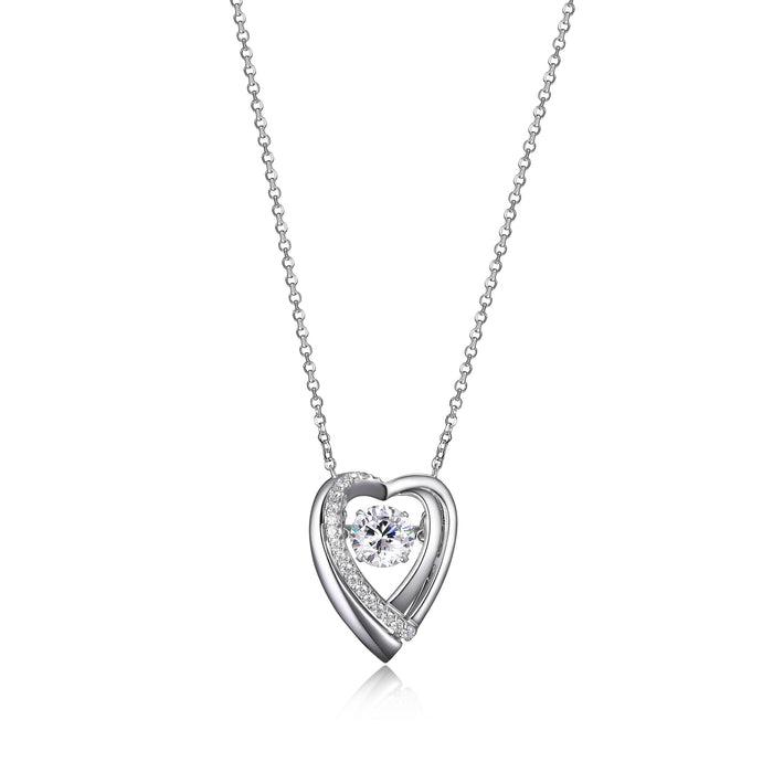 Elle Dancing Heart Necklace