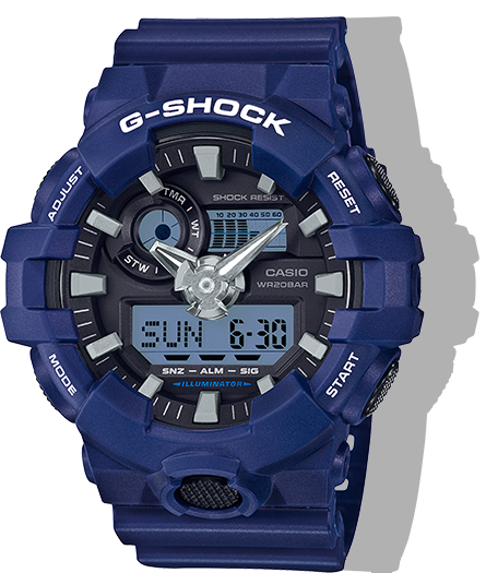 G-Shock Watch: Navy