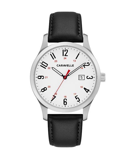 Caravelle Men's Watch: Black