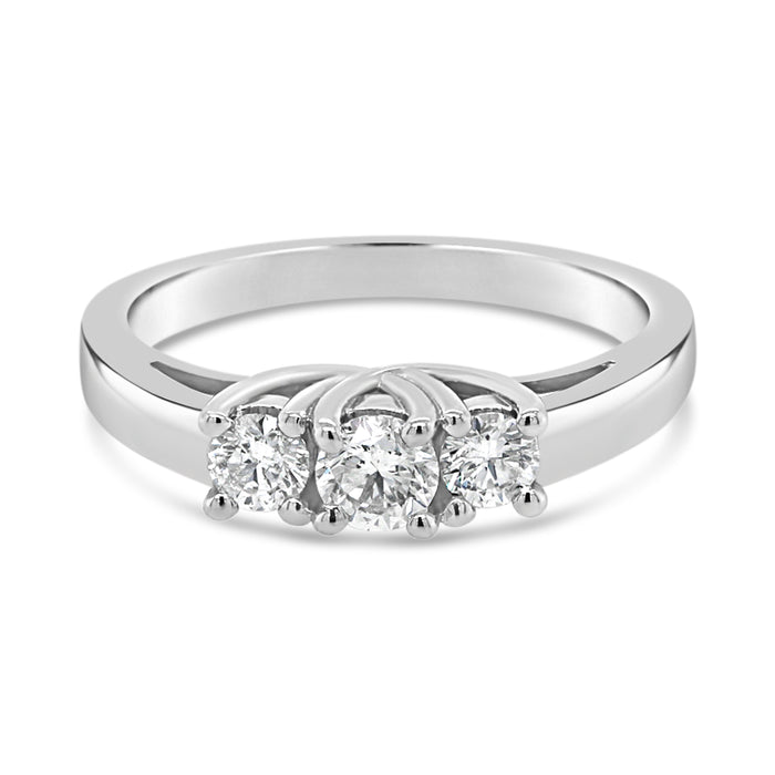 .50CT Royal Trinity Engagement Ring