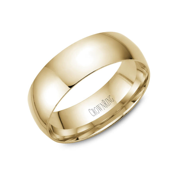 7mm Men's Traditional Wedding Band